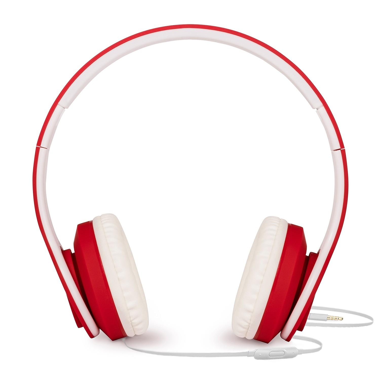 W1 HEADPHONES matte red